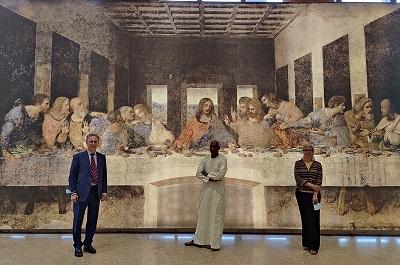 """""""Opera Omnia Leonardo"""": la mostra al Museo delle Civiltà Nere di Dakar"""