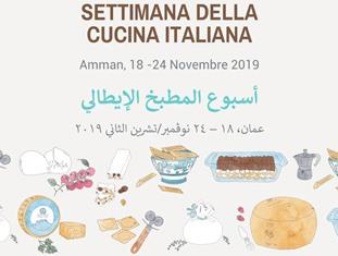 LA SETTIMANA DELLA CUCINA ITALIANA IN GIORDANIA E PALESTINA