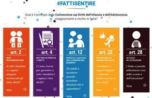 """""""GO BLUE"""": UNICEF E ANCI IN 200 COMUNI ITALIANI PER LA CONVENZIONE SUI DIRITTI DELL'INFANZIA"""