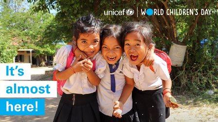 GIORNATA MONDIALE INFANZIA: IL NUOVO RAPPORTO DELL'UNICEF