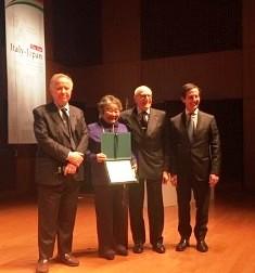 PREMIO UMBERTO AGNELLI AL GIORNALISMO 2019 ALL'IIC DI TOKYO