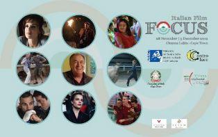 ITALIAN FILM FOCUS A CITTÀ DEL CAPO
