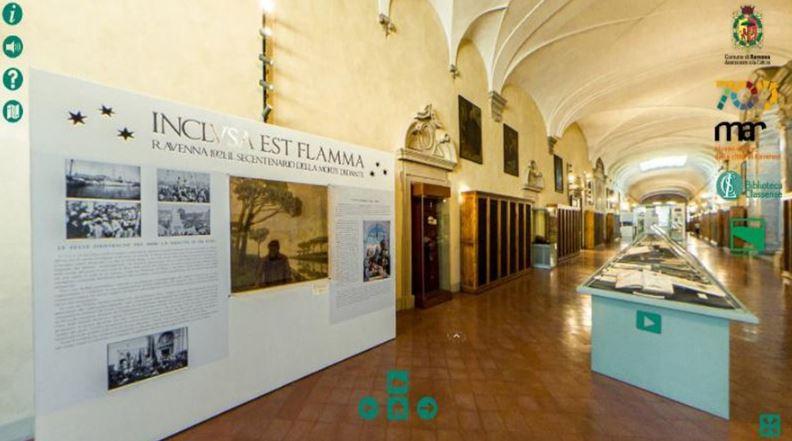 """""""Dante. Gli occhi e la mente"""": 3 virtual tour per le mostre dantesche di Ravenna"""