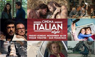 CINEMA ITALIAN STYLE PER LA PRIMA VOLTA ANCHE A SAN FRANCISCO