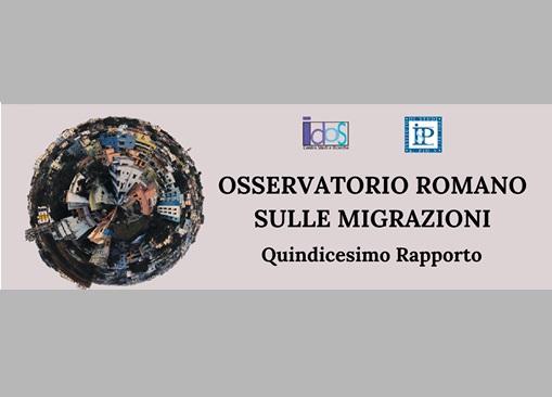 IMMIGRAZIONE STANZIALE E MOBILITÀ SOSPESA: NUOVA EDIZIONE DELL'OSSERVATORIO ROMANO SULLE MIGRAZIONI DI IDOS
