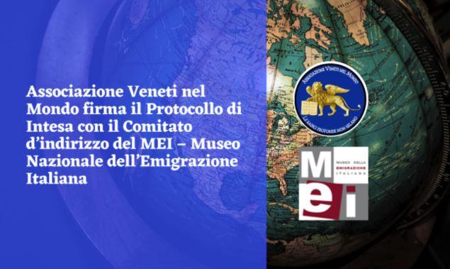 L'Associazione Veneti nel mondo sigla accordo con il Museo Nazionale dell'Emigrazione