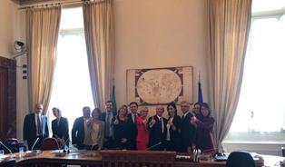 NISSOLI (FI) ALL'INCONTRO DELLA BILATERALE DI AMICIZIA ITALIA-USA CON L'AMBASCIATORE EISENBERG