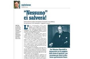 """""""NESSUNO"""" CI SALVERÀ! – di Fabio Porta"""