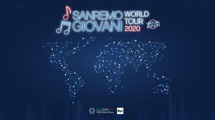 Sulla Rai il Sanremo Giovani World Tour