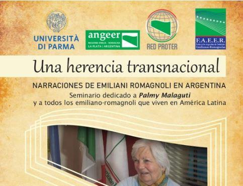 """""""UN PATRIMONIO TRANSNAZIONALE"""": DOMANI IL SEMINARIO SULLE STORIE DI EMILIANO-ROMAGNOLI IN ARGENTINA"""