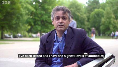 LOTTA AL CORONAVIRUS: A LONDRA IL MEDICO ITALIANO DONATORE DI UN SUPER PLASMA – di Alessandro Allocca
