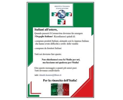 """PROMOZIONE DEL MADE IN ITALY ALL'ESTERO: IL PROGETTO DELL'ASSOCIAZIONE """"IDENTITÀ ITALIANA"""""""