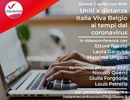 GARAVINI E UNGARO (IV) IN VIDEOCONFERENZA CON IL COMITATO ITALIA VIVA BRUXELLES