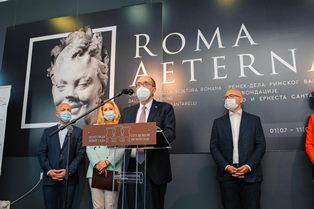 ROMA AETERNA: APERTA LA MOSTRA DI CAPOLAVORI DELLA SCULTURA ROMANA AL MUSEO DELLA CITTÀ DI NOVI SAD