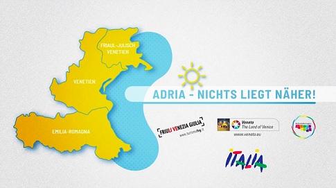 LA RIVIERA DELL'ALTO ADRIATICO SI PROMUOVE INSIEME IN TV IN GERMANIA