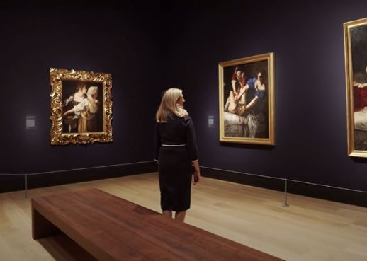 LONDON NATIONAL GALLERY: TOUR ONLINE DELLA MOSTRA DI ARTEMISIA GENTILESCHI
