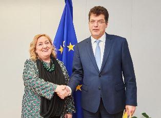 IL VICE MINISTRO DEL RE INCONTRA IL COMMISSARIO UE PER LA GESTIONE CRISI LENARCIC