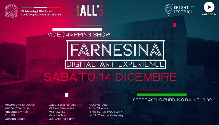FARNESINA DIGITAL ART EXPERIENCE
