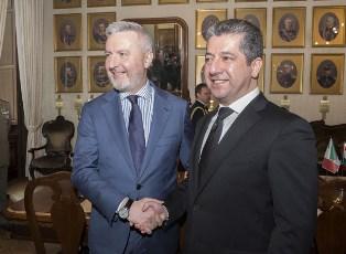 IL MINISTRO GUERINI INCONTRA IL PRIMO MINISTRO DEL GOVERNO REGIONALE DEL KURDISTAN