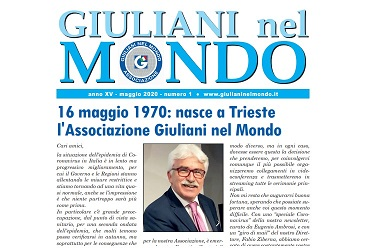 1970-2020: I PRIMI CINQUANT'ANNI DELL'ASSOCIAZIONE GIULIANI NEL MONDO – di Dario Locchi