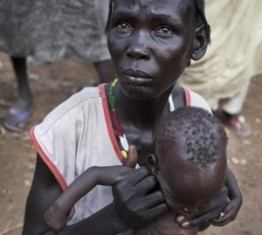 FAO/UNICEF/WFP: LA FAME MINACCIA OLTRE METÀ DELLA POPOLAZIONE DEL SUD SUDAN