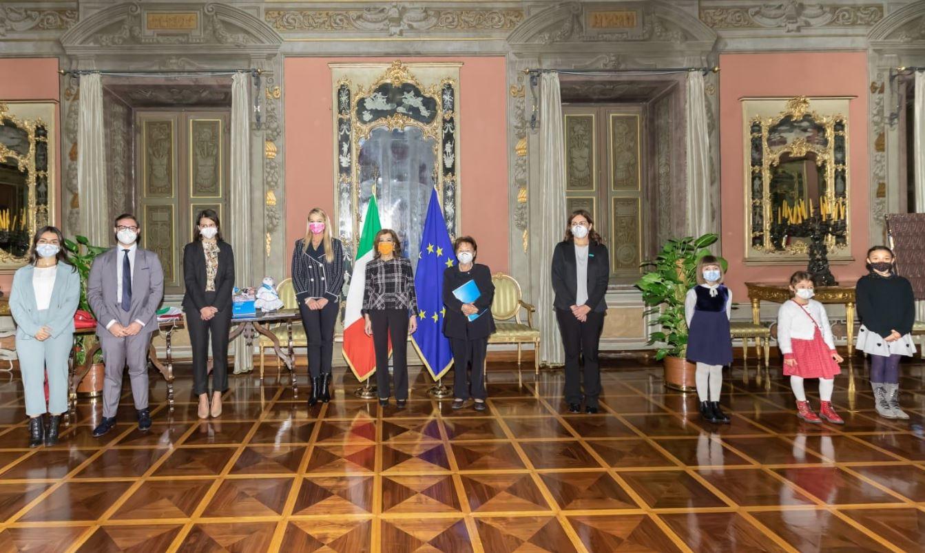 SENATO: LA PRESIDENTE CASELLATI RICEVE L'UNICEF ITALIA PER LA GIORNATA MONDIALE PER L'INFANZIA