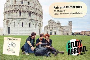 """""""STUDY ABROAD. IN ITALIA"""": FIERA DELLO STUDENTE A BELGRADO"""