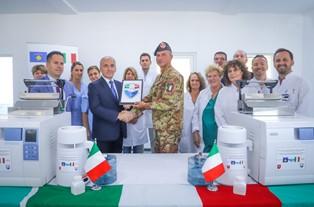 KOSOVO: IL CONTINGENTE ITALIANO SUPPORTA LA SANITÀ LOCALE