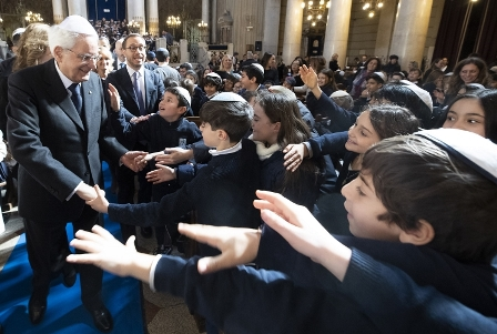 DALLA COMUNITÀ EBRAICA CONTRIBUTO DECISIVO PER L'ITALIA