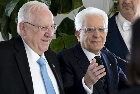 IL PRESIDENTE MATTARELLA DA DOMANI IN ISRAELE
