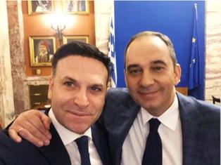 HORIZON EUROPE: ROMAGNOLI (MDL) INCONTRA IL MINISTRO DELLA NAVIGAZIONE GRECO