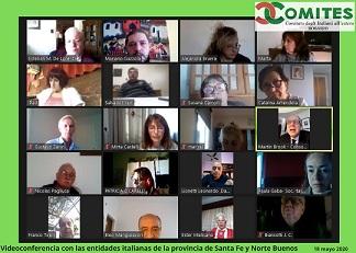 ROSARIO: PROSEGUONO LE VIDEOCONFERENZE DI COMITES E CONSOLATO CON LE ASSOCIAZIONI
