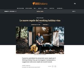 LE NUOVE REGOLE DEL WORKING HOLIDAY VISA – di Maurizia Tinti, Dario Castaldo e Magica Fossati