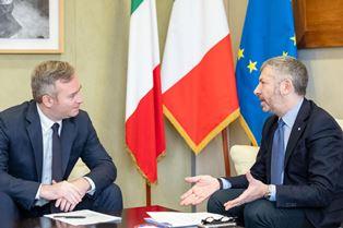 FRANCIA-ITALIA/ SCALFAROTTO INCONTRA LEMOYNE: PER NUOVA AGENDA TRANSATLANTICA