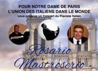 NOTRE DAME: IL CONCERTO UIM E IIC PARIGI PER LA RICOSTRUZIONE