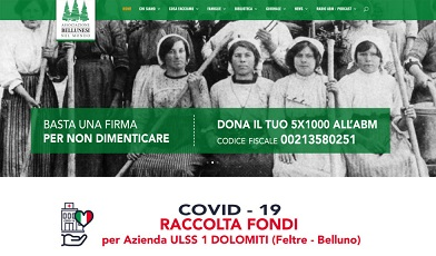 RACCOLTA FONDI PRO ULSS 1 DOLOMITI (BELLUNO - FELTRE): SUPERATI I 18.000 EURO