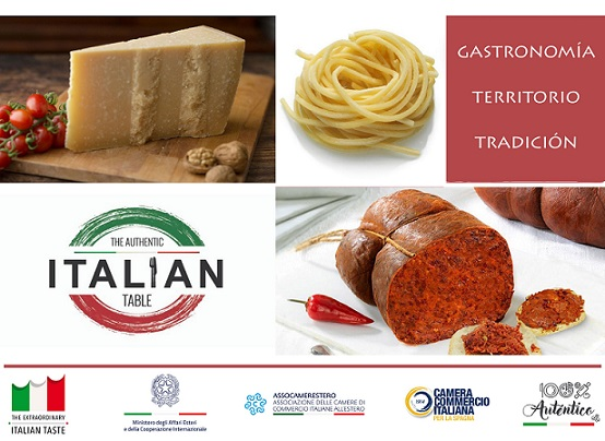 "A MADRID I PRODOTTI DI 5 REGIONI ITALIANE PER ""THE AUTHENTIC ITALIAN TABLE"""