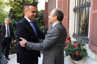 MISSIONE IN LIBANO DEL MINISTRO LUIGI DI MAIO