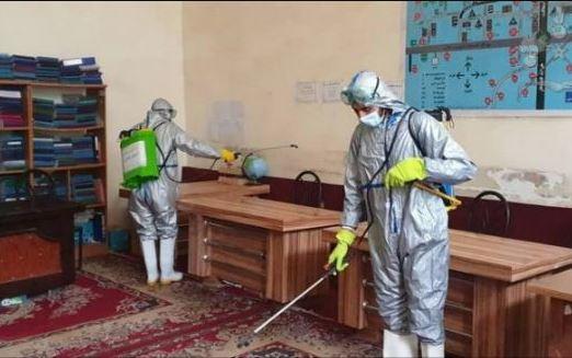 Afghanistan: contingente italiano dona materiale per la disinfezione delle scuole