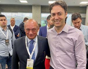 COLOMBIATEX 2020: L'AMBASCIATORE AMADUZZI VISITA LO STAND ITALIANO E INCONTRA IL SINDACO DI MEDELLIN