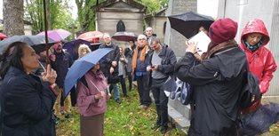 PARIGI: CONTINUANO LE PASSEGGIATE AL PERE LACHAISE