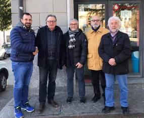 IL PRESIDENTE DELLA FAMIGLIA BELLUNESE DI PINHALZINHO IN VISITA ALL'ABM