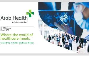 ARAB HEALTH: LA PUGLIA A DUBAI PER LA FIERA SUL SETTORE SANITARIO