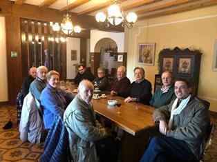 LA FAMIGLIA EX EMIGRANTI DEL COMELICO-SAPPADA HA UN NUOVO PRESIDENTE: È DONATO ZANDONELLA