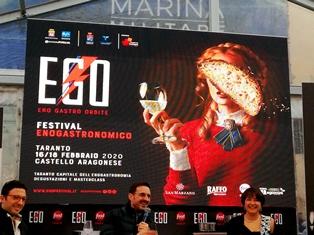 EGO FEST 2020: LA TARANTO CAPITALE DEI GUSTI E NEW TRENDS - di Guglielmo Greco Piccolo & Damian Killeen