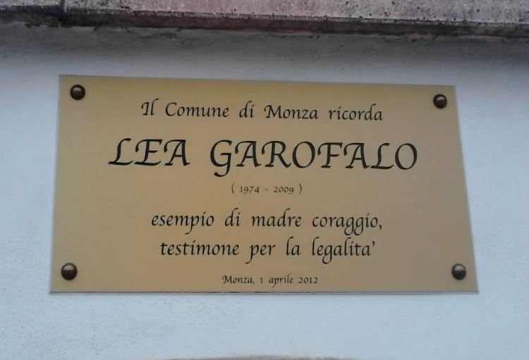 GARAVINI (IV) RICORDA LEA GAROFALO: ESEMPIO DI UNA CALABRIA CHE NON SUBISCE