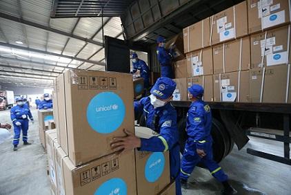 CORONAVIRUS: AIUTI ALL'ITALIA DALL'UNICEF