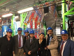BILLI (LEGA) AL CERN: ITALIANI PROTAGONISTI NELLA RICERCA