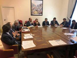GEMELLAGGIO POTENZA-DENVER: L'INCONTRO AL COMUNE DI POTENZA