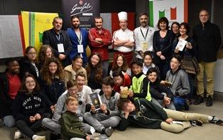 SETTIMANA DELLA CUCINA ITALIANA IN FRANCIA: TRUE ITALIAN TASTE SALE IN CATTEDRA A LIONE